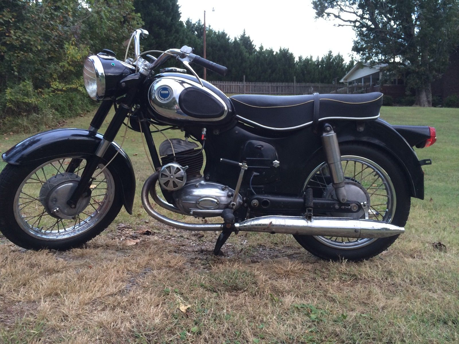 1965 Sears 175cc Motorcycle Made By Puch In Austria