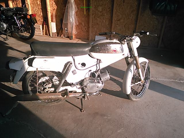 1965 sears puch allstate saber 50 cc scooter motorcycle 1960s original