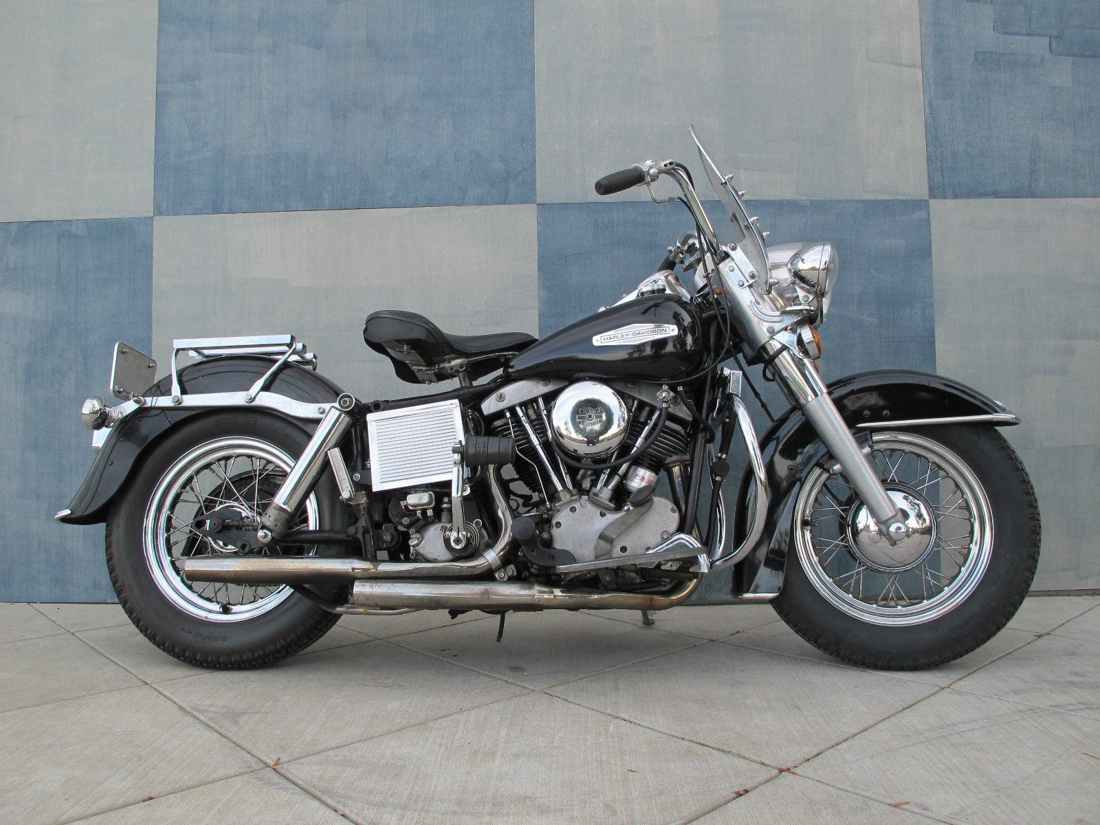 Harley Davidson First Bike >> 1966 HARLEY DAVIDSON SHOVELHEAD VERY ORIGINAL CALIFORNIA BIKE panhead flathead