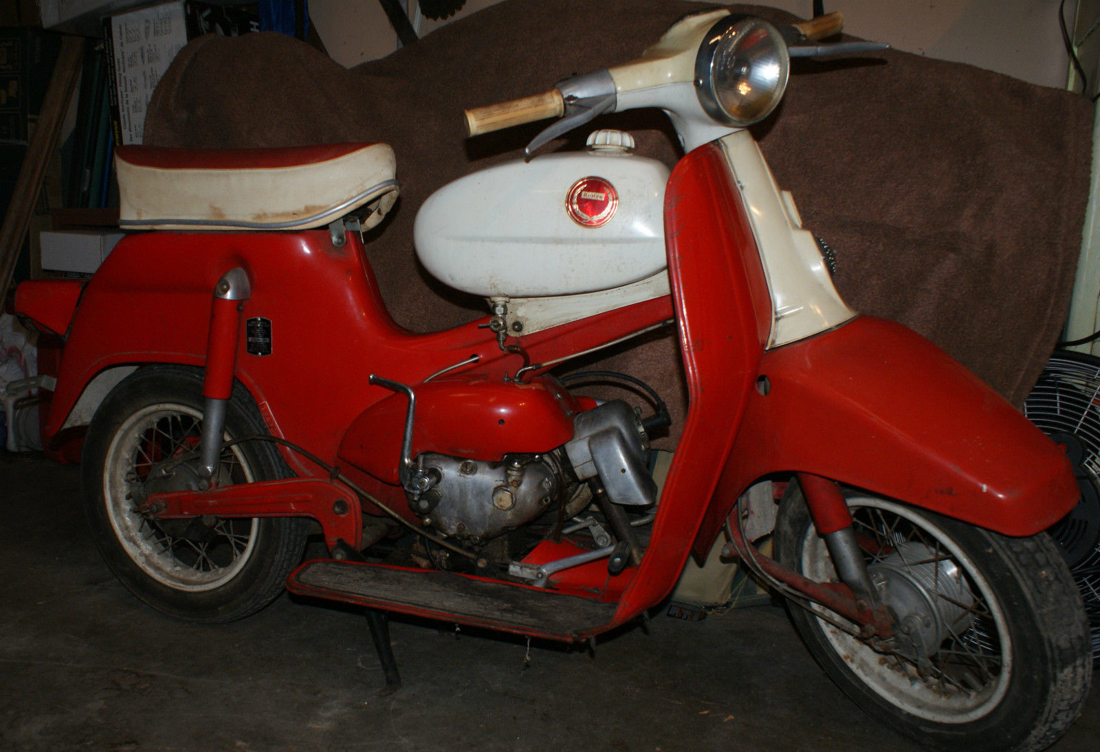 1966 Sears Allstate Motor Scooter Built By Steyr Daimler