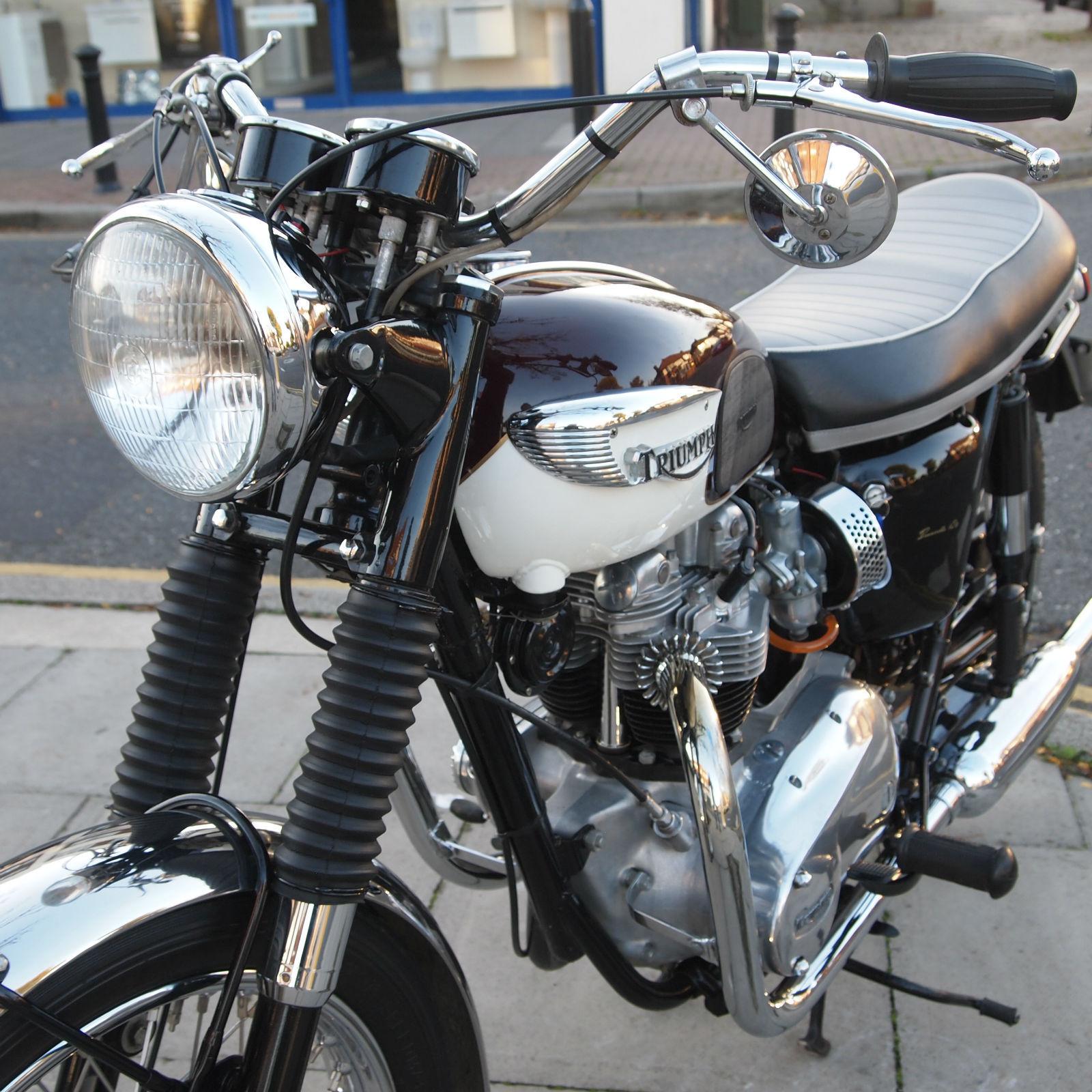 1966 Triumph Bonneville T120 R Won Best Bonneville At Gaydon Out