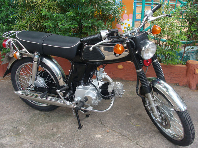 1967 honda ss50 completly rebuilt with brand new 100cc. Black Bedroom Furniture Sets. Home Design Ideas