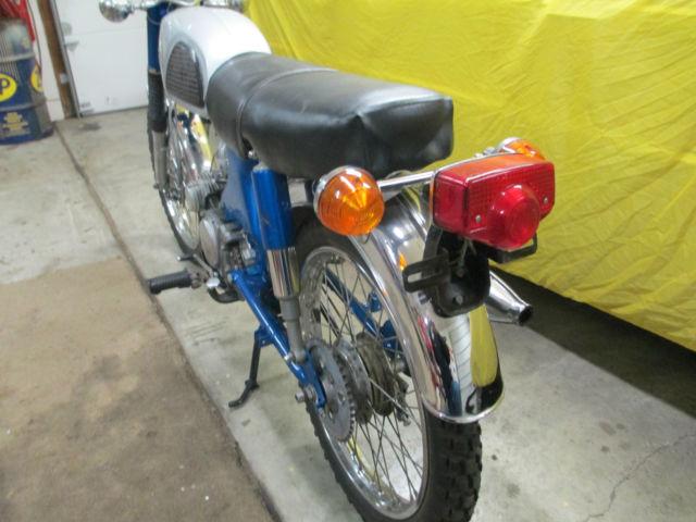 1968 1969 69 Honda Cl90 S90 90 Scrambler Vintage No Reserve