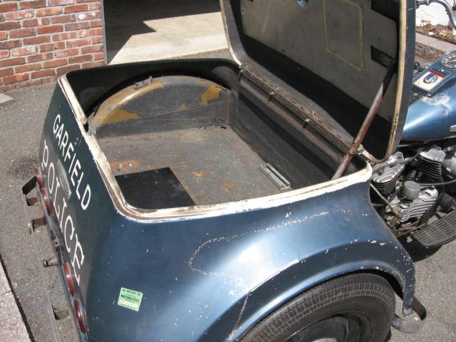 Tricycle Restoration Parts : Harley davidson servi car new jersey police trike