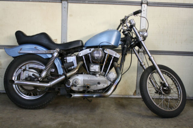 1968 Harley Davidson Xlch Motorcycle Sportster