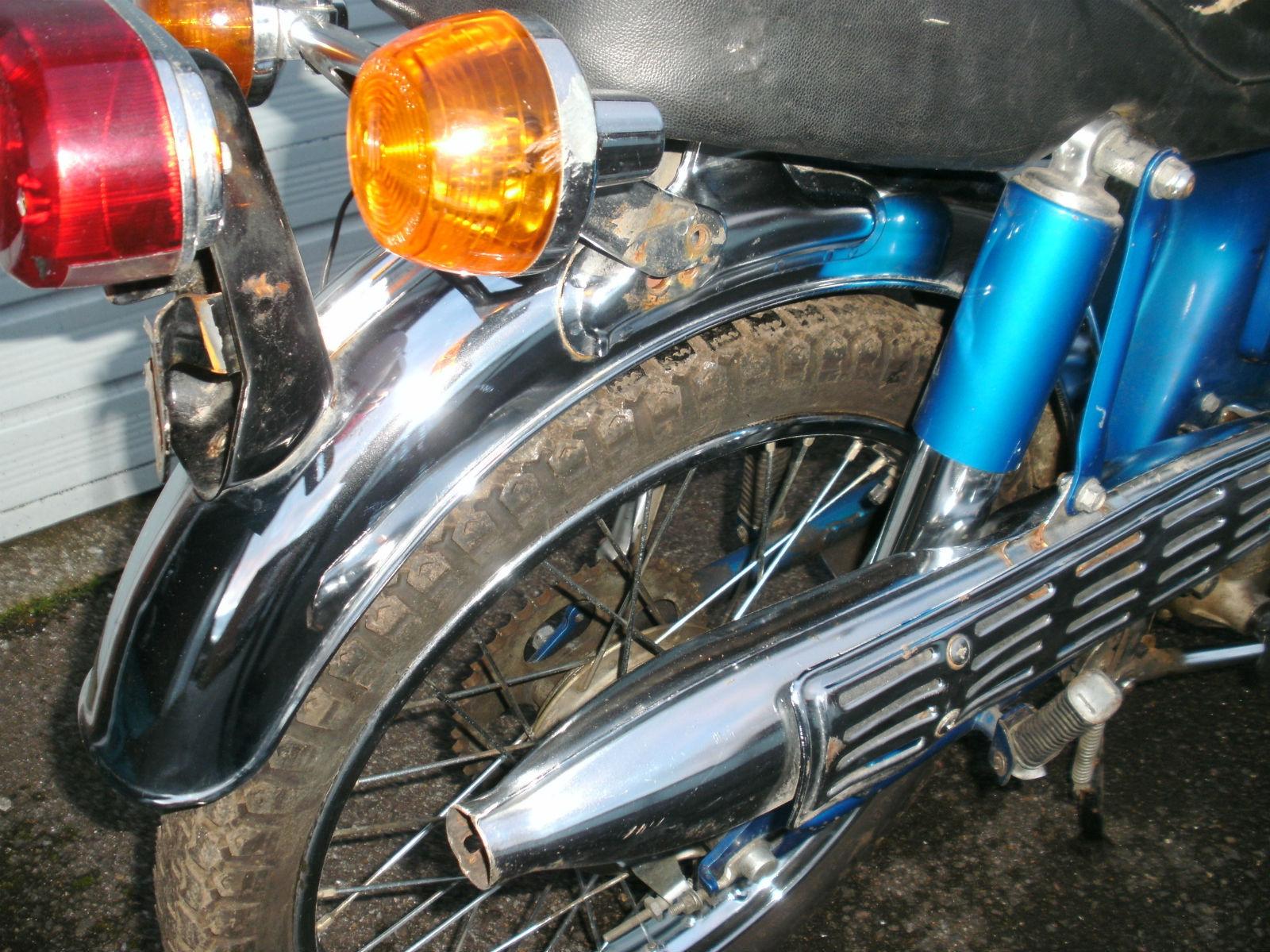 Kellly Blue Book Antique Honda Motorcycle 28
