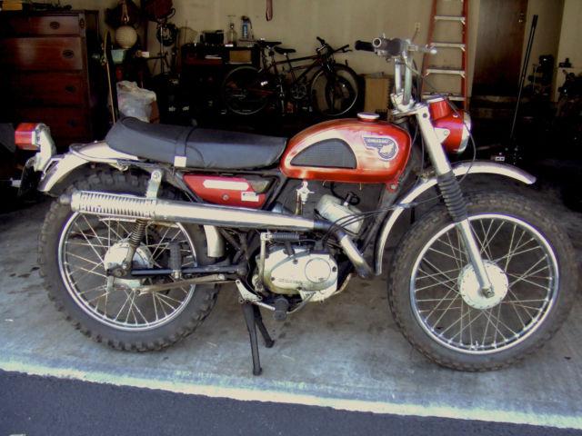 1968 Kawasaki Tr120 Roadrunner C2ss C2tr Vintage 2 Stroke Motorcycle