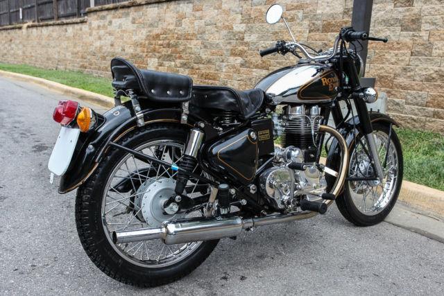 1968 Royal Enfield Bullet Black And Silver Very Nice Bike border=