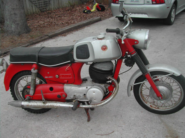 1968 Sears Puch 250cc Twingle Motorcycle