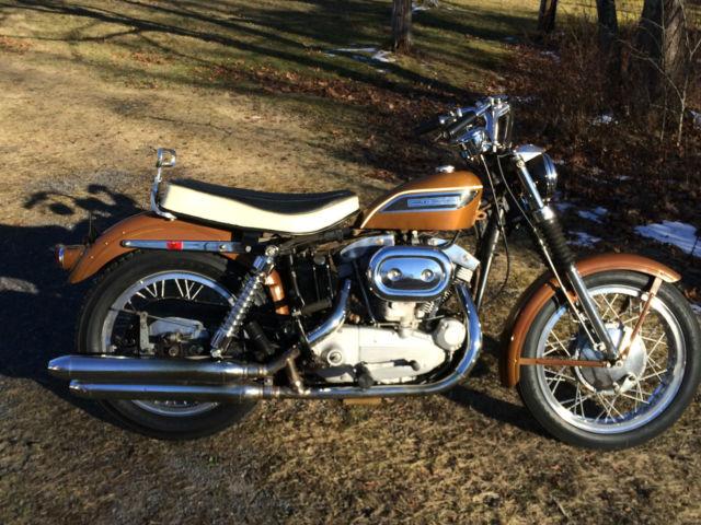 1969 Harley Sportster Xlch Original Paint Ironhead