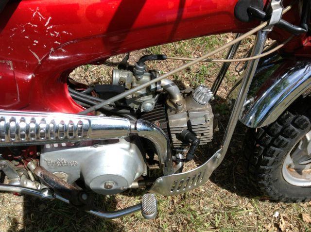 1969 Honda CT 70 Street Legal Mini Bike, Dirt Bike, Off Road Vintage Trail  Bike