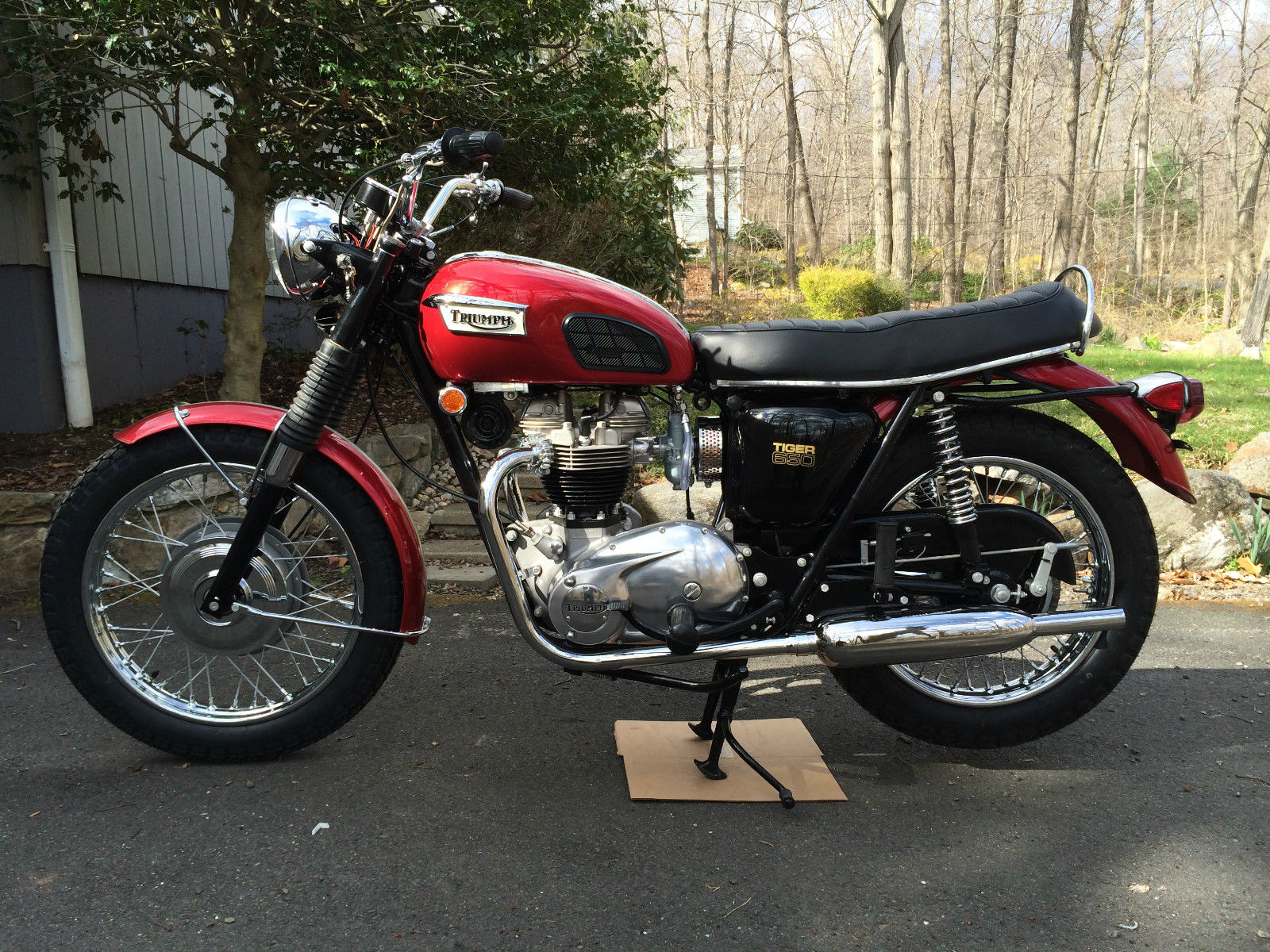 1969 Triumph Tr6r Tiger 650 Trophy Winning Restoration