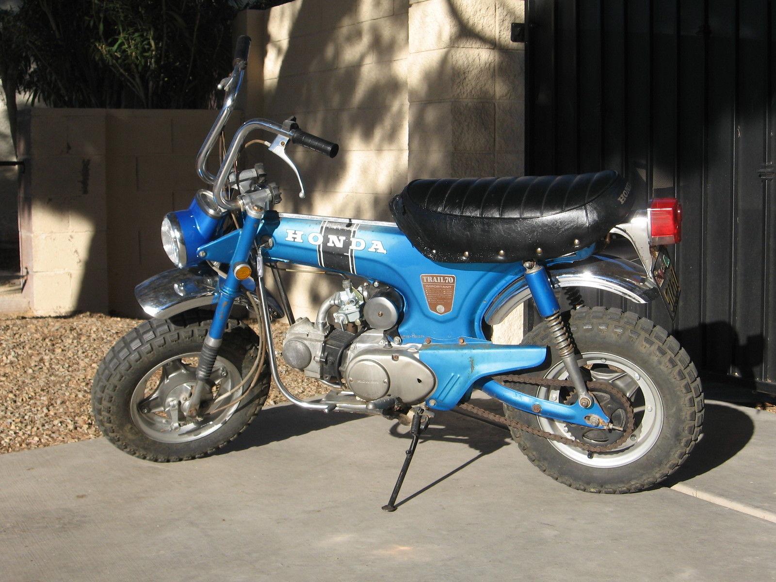 1970 Honda Mini Trail Ct 70 Ct70 Pit Bike Motorcycle Ko K0 Carburetor