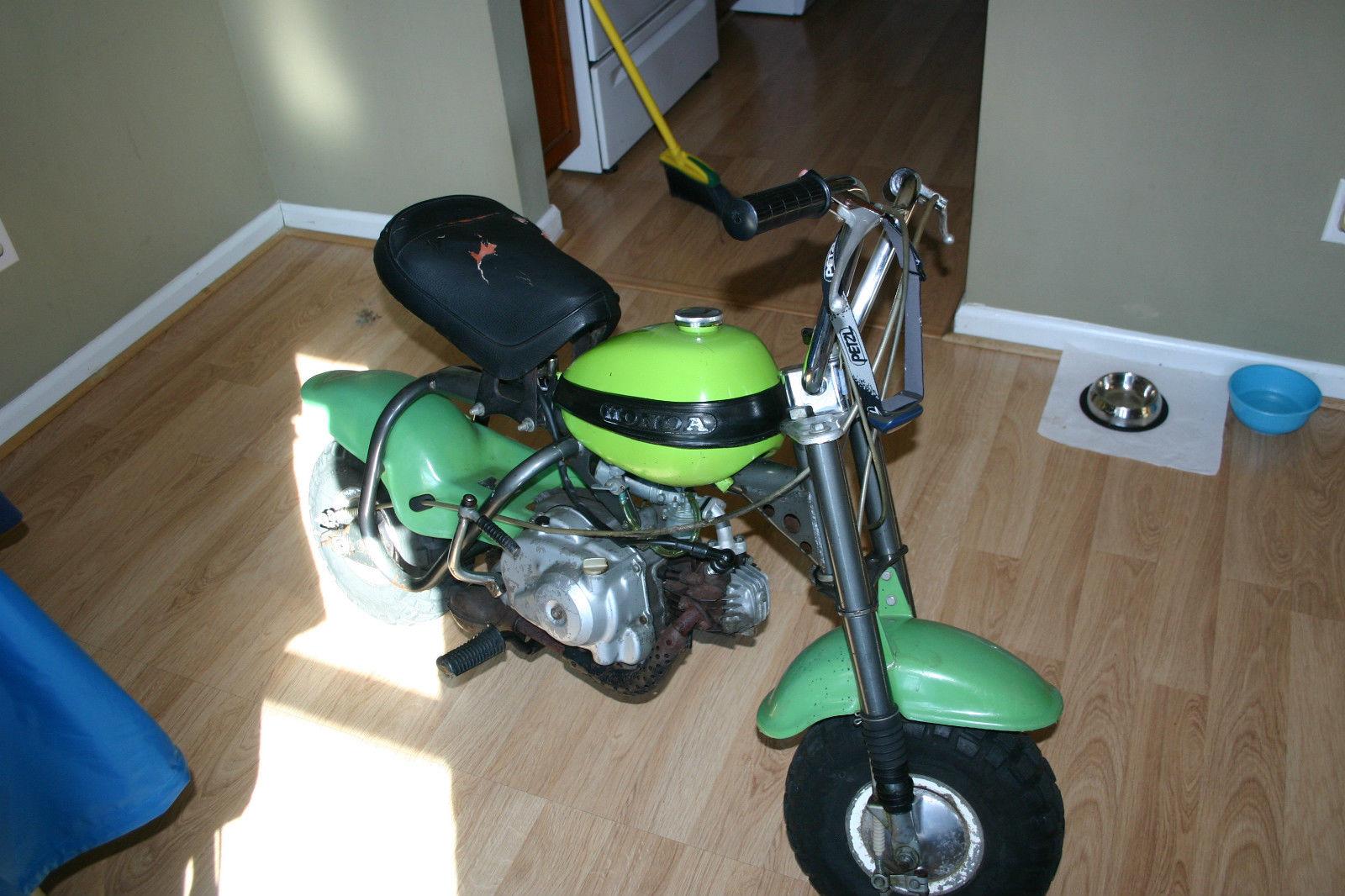 1970 Honda Qa50 Ko Green Survior Rare 50cc Dirt Bike