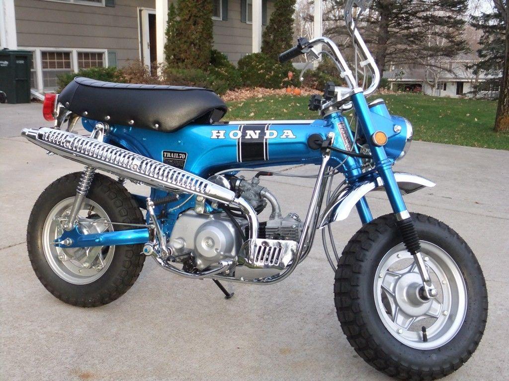 1970 Honda Ct70 Paint Colors