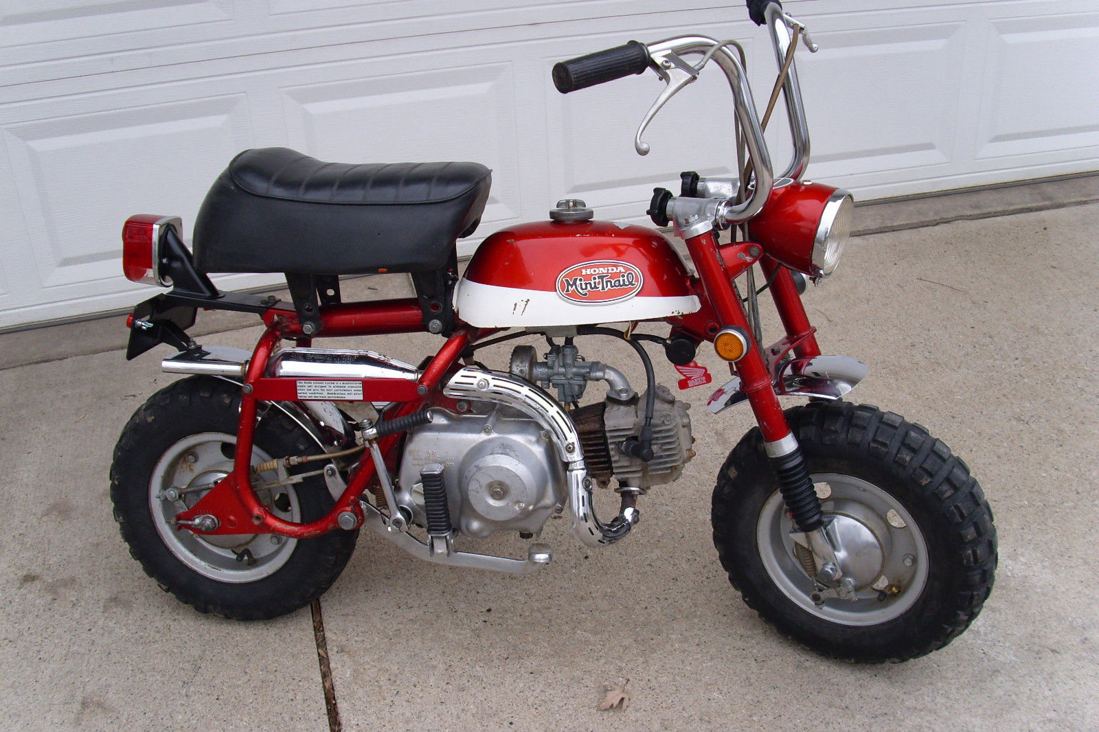 1970 Honda Z50 Minitrail 50 K2 Nice Shape