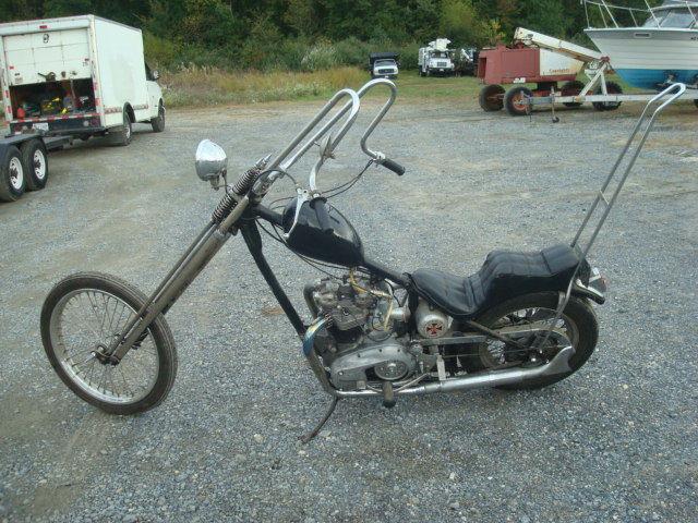 1970 Triumph Hardtail Old School Chopper