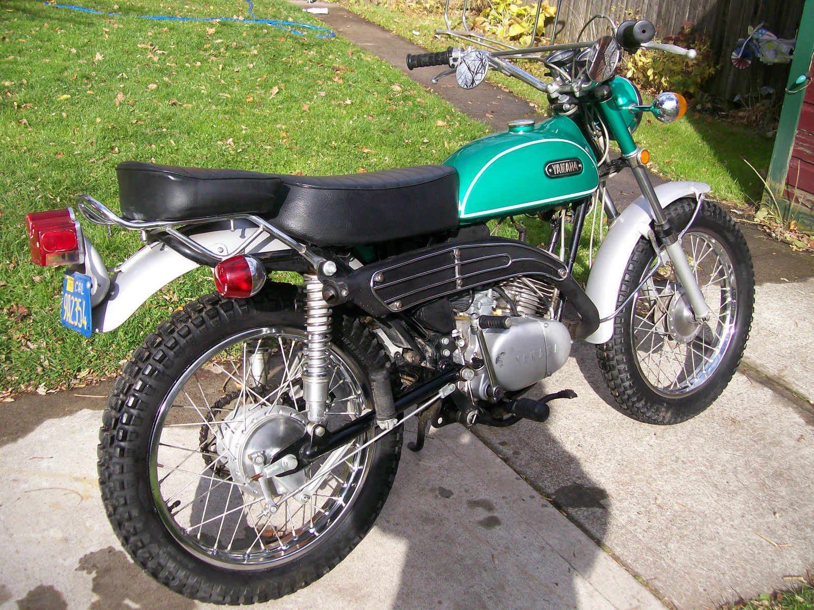 1970 yamaha ct1b 175 enduro 851 original miles. Black Bedroom Furniture Sets. Home Design Ideas