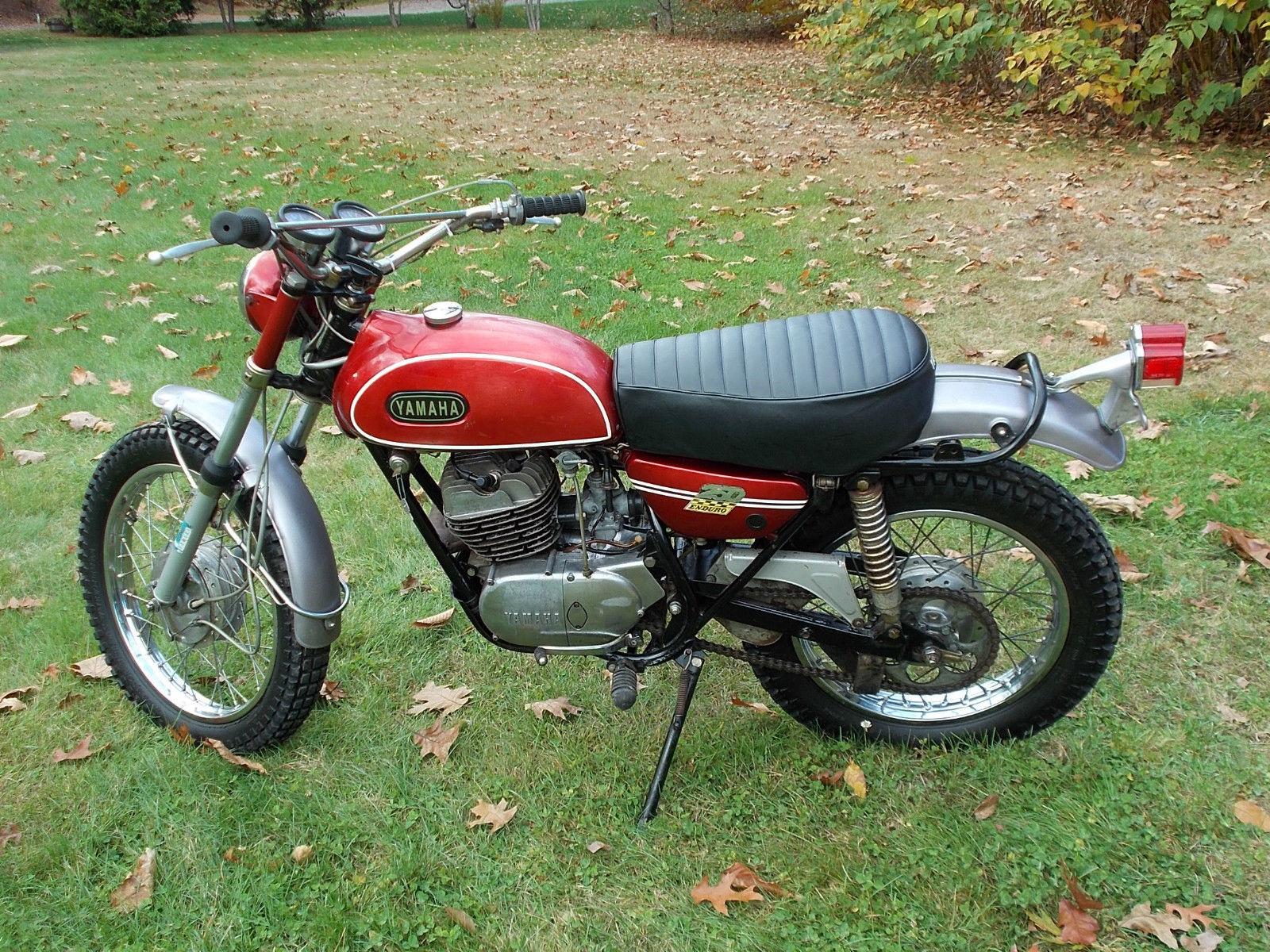 1970 Yamaha DT 1 250 Enduro Clean Vintage Bike Survivor