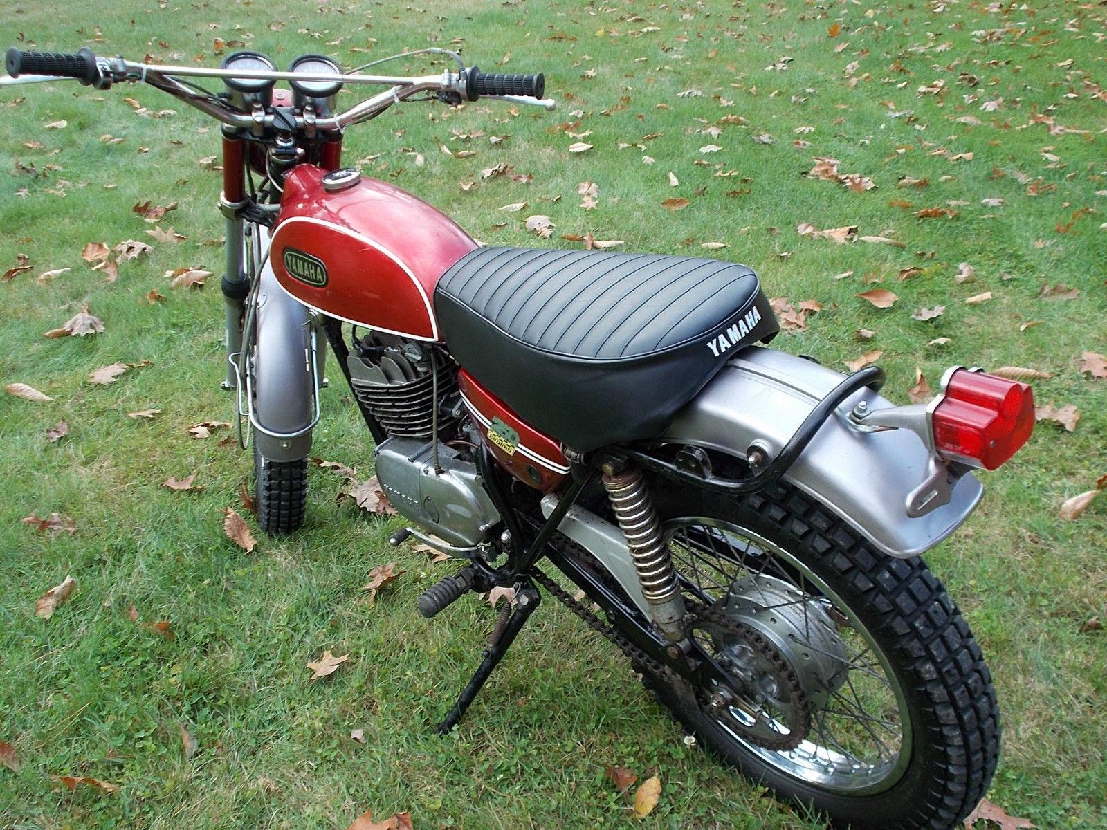 1970 yamaha dt 1 250 enduro clean vintage bike survivor for Yamaha dt 250 for sale