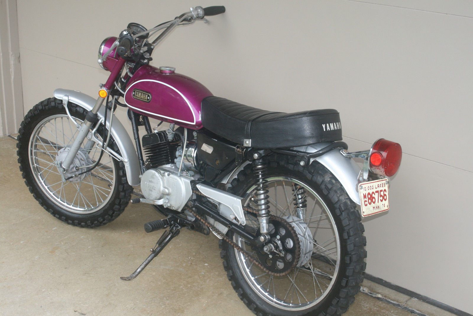 1970 yamaha ht1 enduro 90 original vintage time capsule classic ahrma. Black Bedroom Furniture Sets. Home Design Ideas