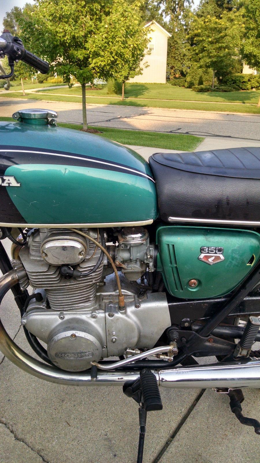 1971 honda cb 350 k3 motorcycle