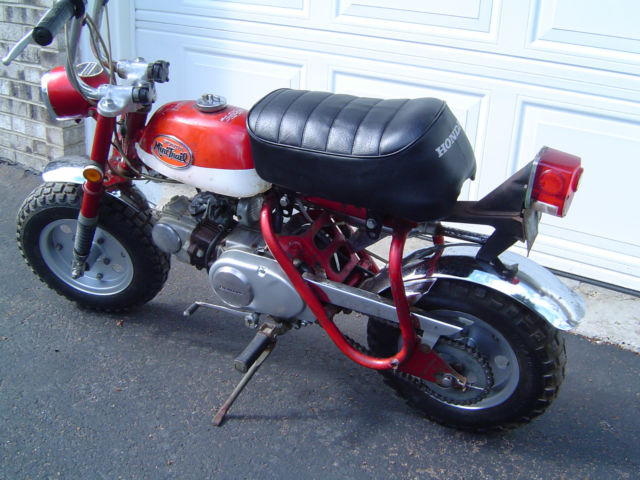 Honda Z Mini Trail Z A K Z Ak Like Ct on 1971 Honda Ct70