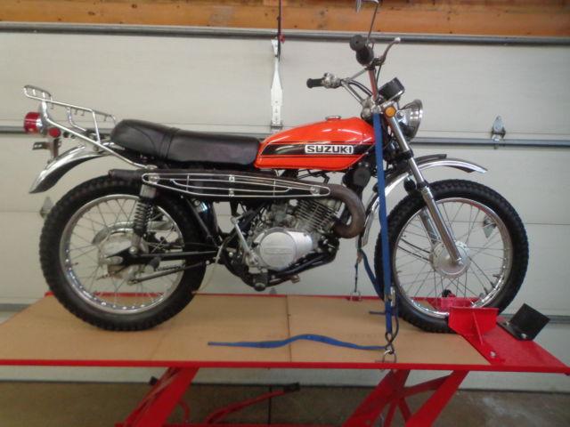 1971 SUZUKI TS185 TS 185 ALL ORIGINAL EXAMPLE