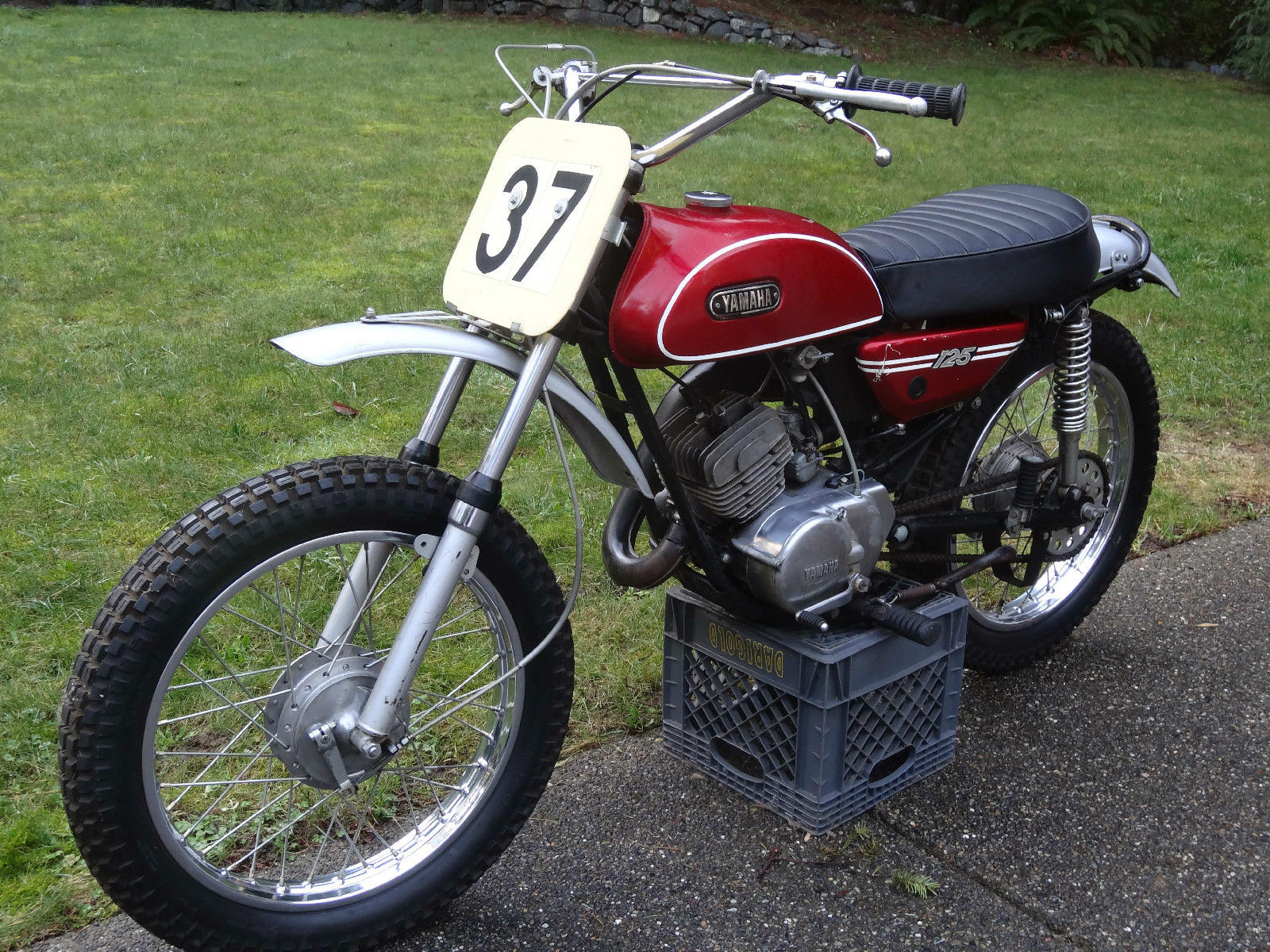 1971 yamaha 125 at1 mx ahrma vintage. Black Bedroom Furniture Sets. Home Design Ideas