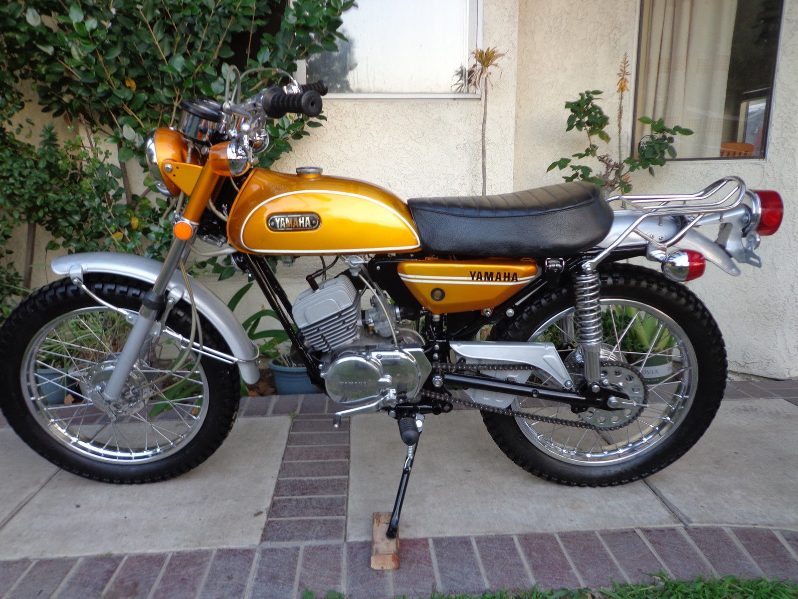 1971 yamaha ct1 175 enduro. Black Bedroom Furniture Sets. Home Design Ideas