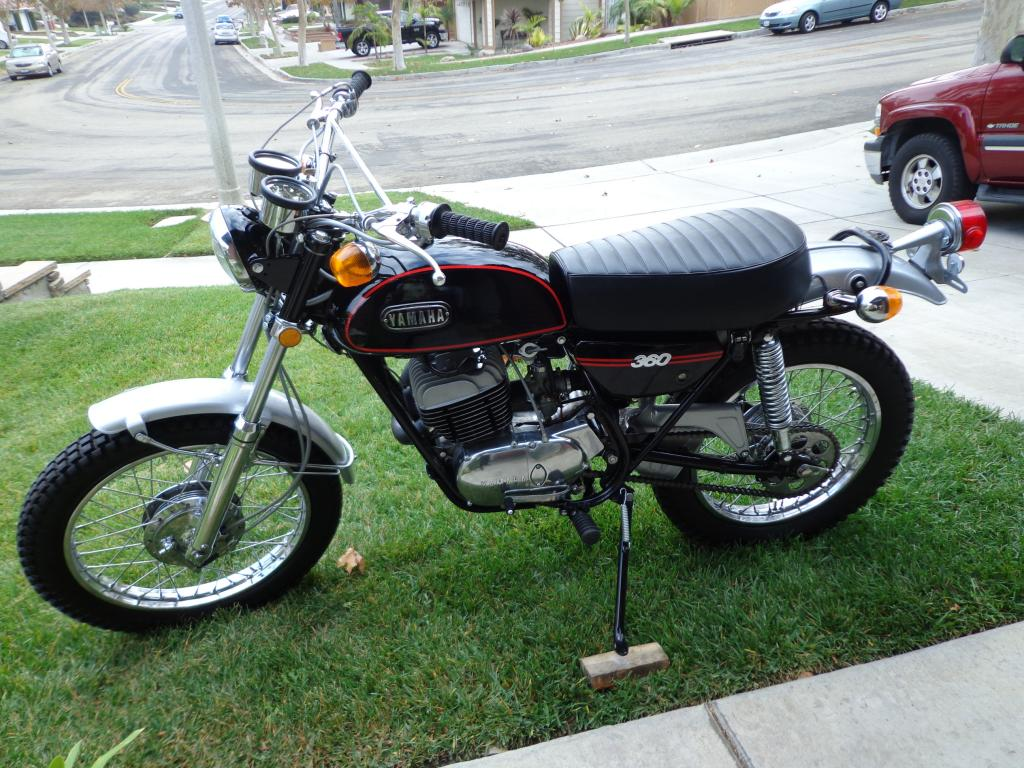 1971 yamaha rt1 enduro 360 restored original specs. Black Bedroom Furniture Sets. Home Design Ideas