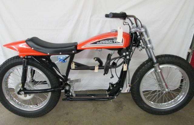 Harley Davidson: 1972 Harley-Davidson XR750 Rolling Chassis Dirt & Flat