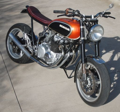 1972 Honda CB550 NO RESERVE Brat Cafe Street Tracker CB 550 Vintage
