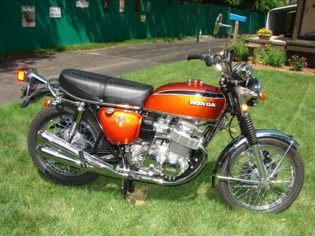 1972 honda cb750 k2 flake sunrise orange restored sohc publicscrutiny Choice Image