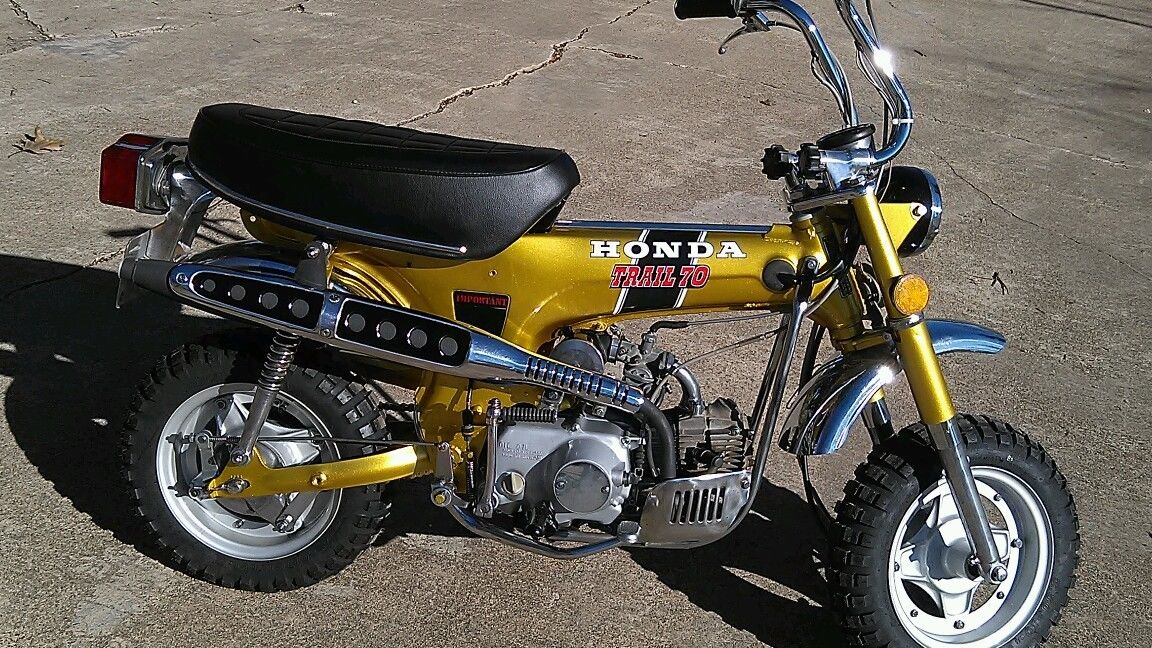 1972 Honda CT70H K1 sl70 z50 z 50 mr50 xl70 xr75 mini trail mt50 gt80 kv75 ct70