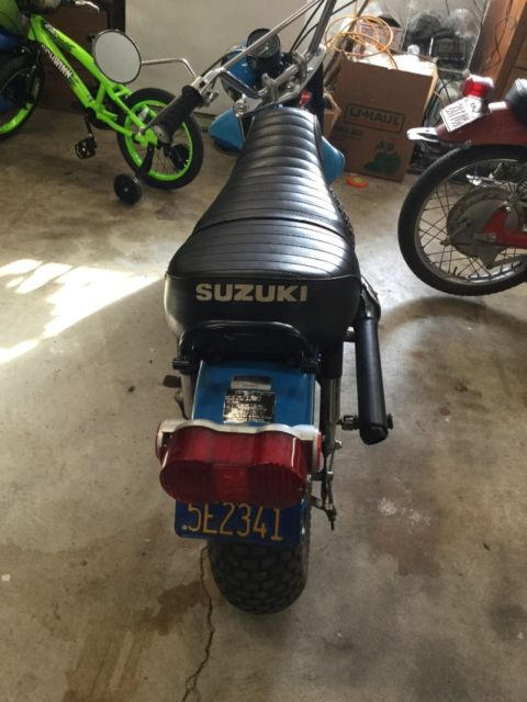 1972 suzuki rv90 all original 1 owner super low miles