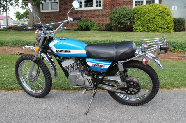 1972 Suzuki TS185 72 TS 185 ORIGINAL SURVIVOR