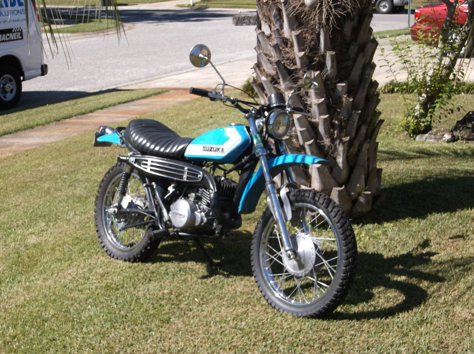 1972 ts 250 savage suzuki dual sport. Black Bedroom Furniture Sets. Home Design Ideas