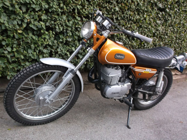 1972 yamaha 360 enduro rt1 360 dt1 runs great brand new for Yamaha 360 enduro