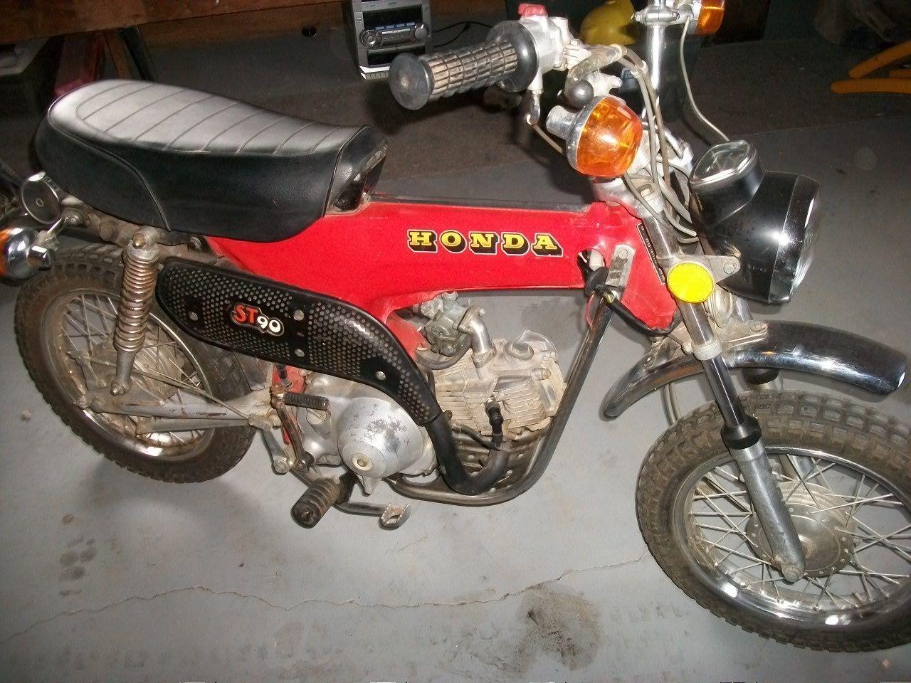 1973 Honda ST90 Trail Bike ST 90 mini bike, parts/restore ...