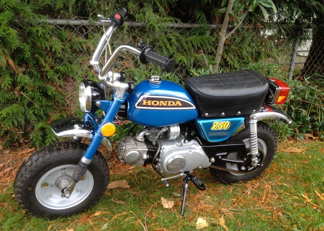 1973 Honda Z50 Ak4 Mini Bike Classic Restoration Project