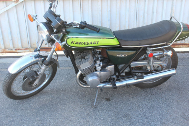 1973 Kawasaki H1d 500 Triple