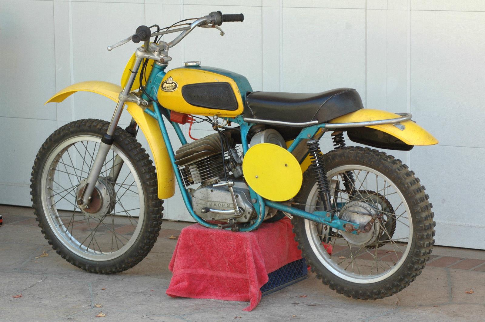 1973 monark 125 mx enduro vintage motocross. Black Bedroom Furniture Sets. Home Design Ideas