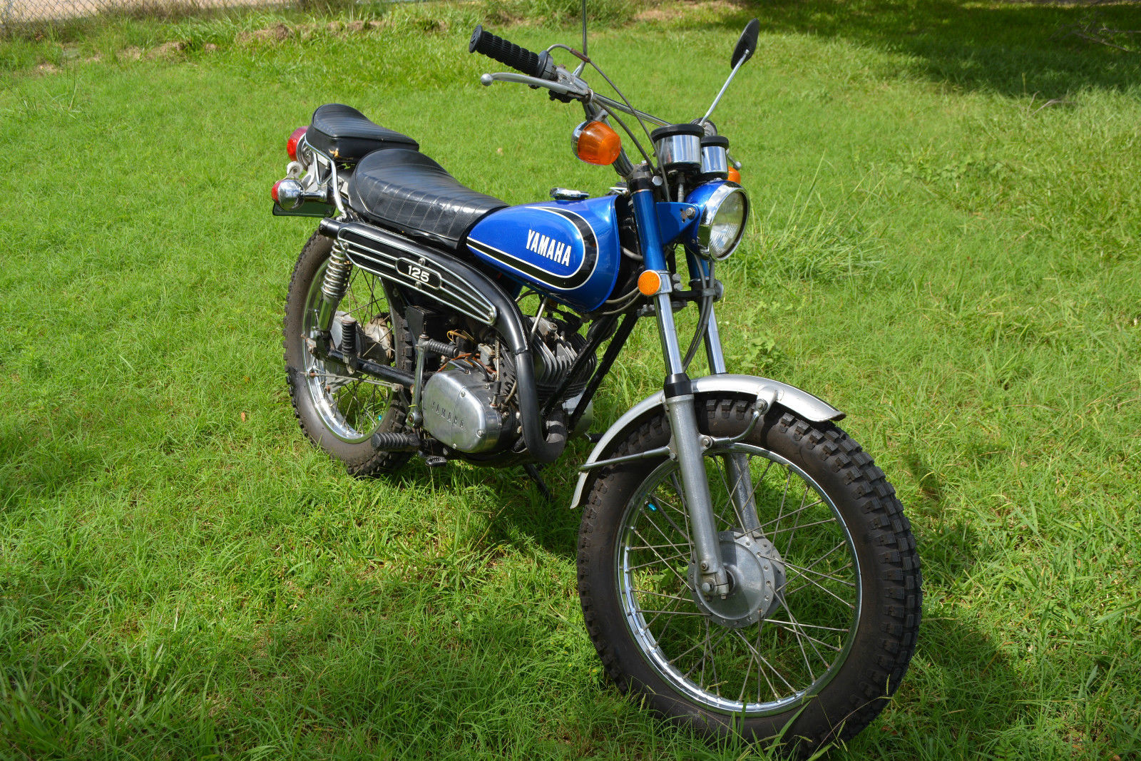 Vintage Yamaha Enduro Parts