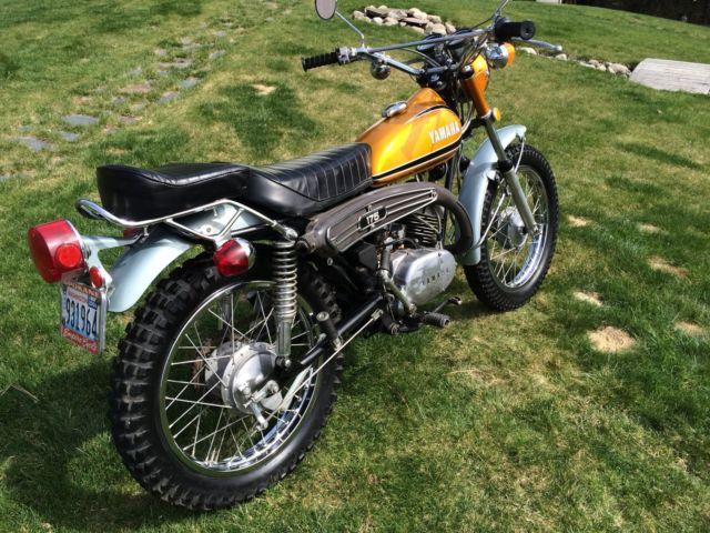 mf 175 wiring diagram 1973 yamaha 175 enduro, runs, low miles, title, original ... #11