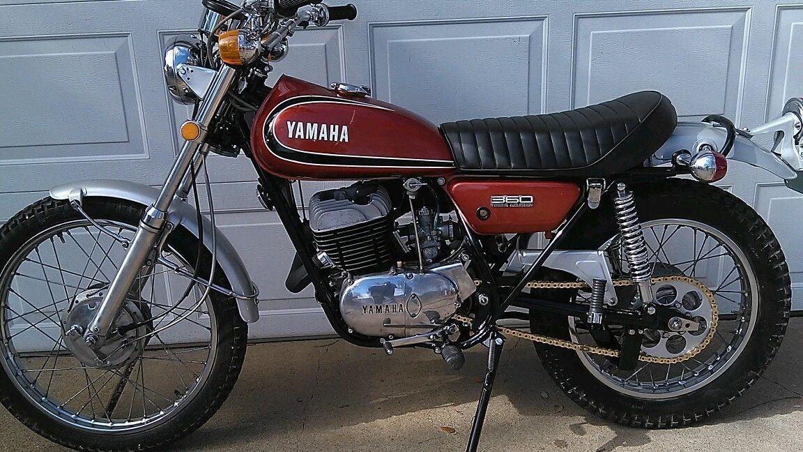 1973 yamaha rt3 360 rt1 at1 ct1 dt1 ht1 lt1 2 3 enduro rt2 for Yamaha 360 enduro