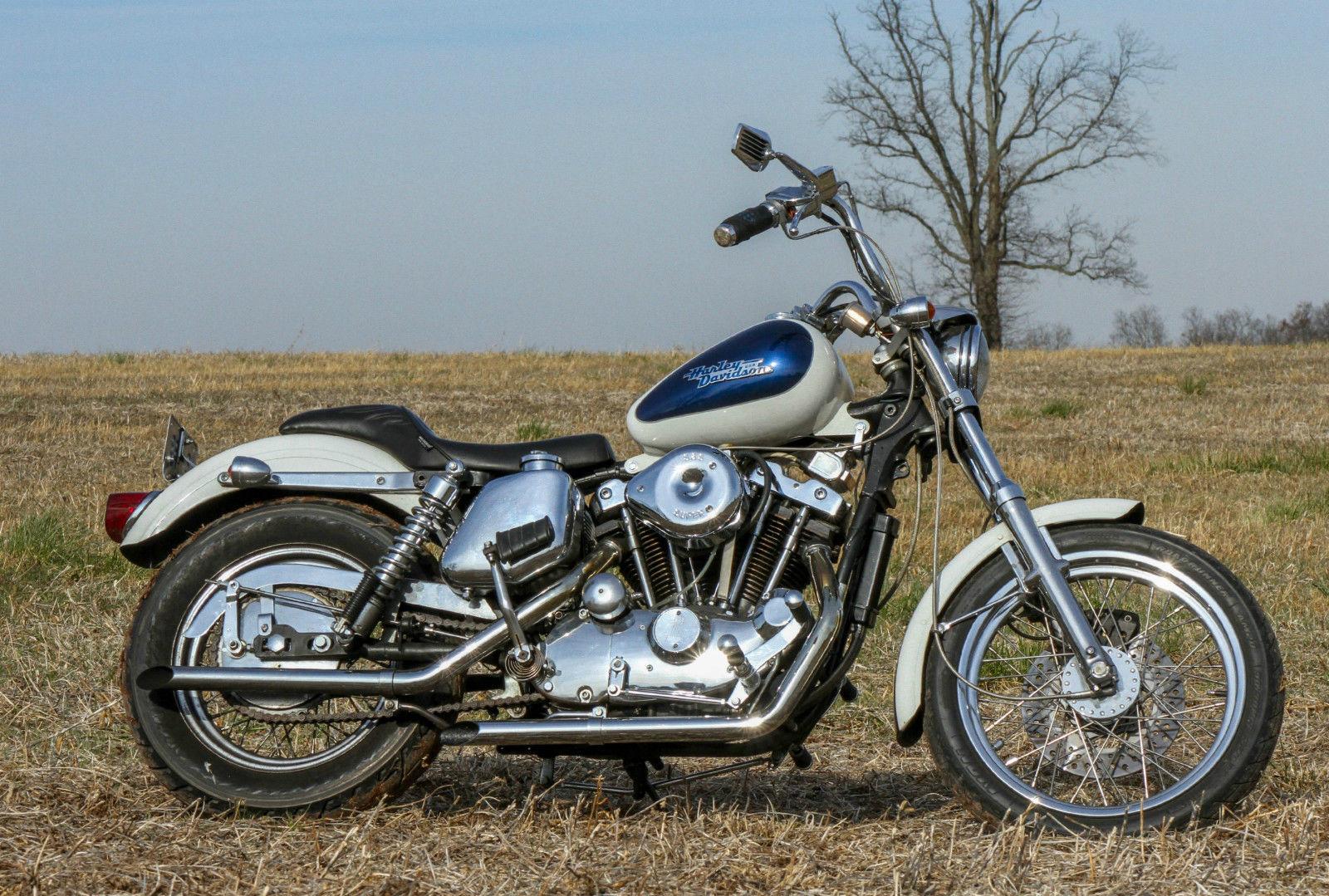 1974 Harley Davidson Xlch Ironhead Sportster