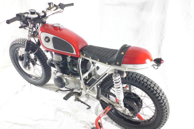1974 Honda Cb360 Cb Vintage Cafe Racer Scrambler
