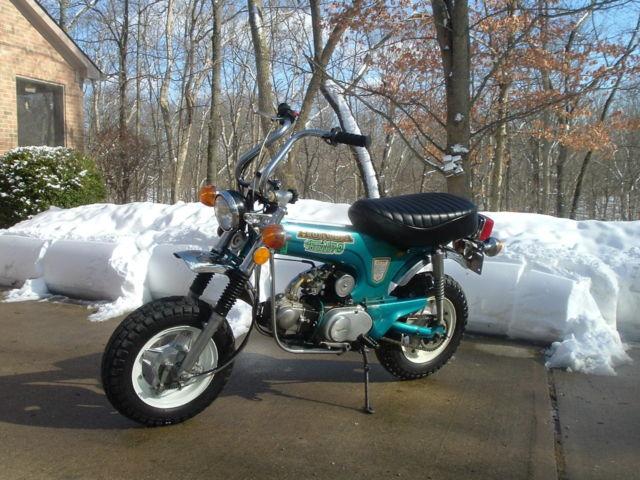 honda ct blue vintage dirt bike ahrma mini bike pit bike ct  cr crf yz