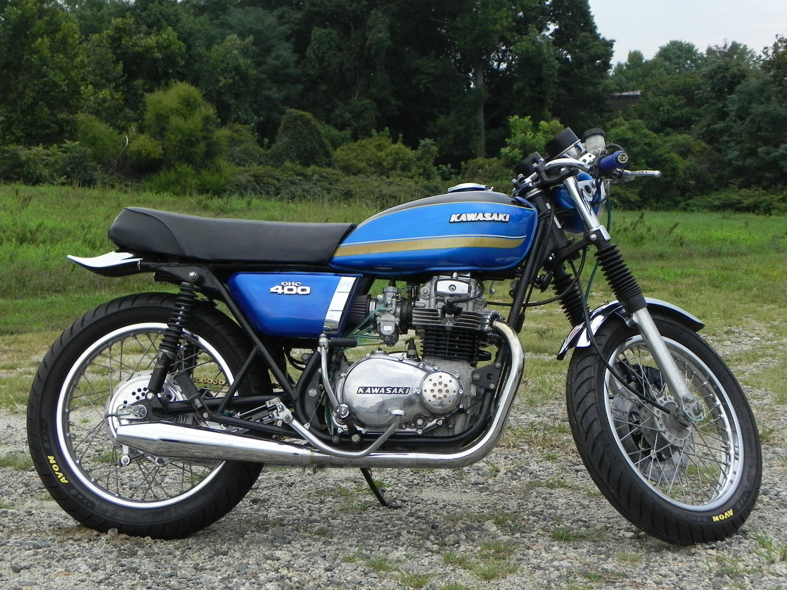 1974 Kawasaki KZ400 Cafe Racer Other